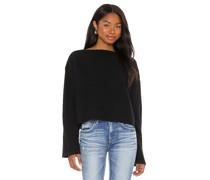 Stiefelausschnitt Stricksweater
