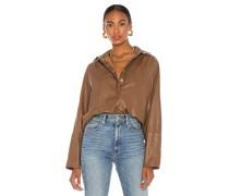Madi Leather Tunika Top