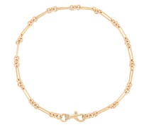 Signature Dog Clip Chain Halskette