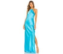 Maxi-Kleid mit Nackenband