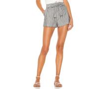 BLACK Boardwalk Stripe Short