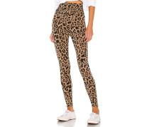 Leopard Zipper Legging