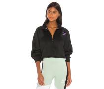 TFS Cropped Half Zip Sweatshirt