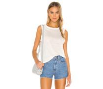 Linen Jersey Shell Tshirt