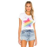 Croft Neon Sparkle Star Vintage Tshirt