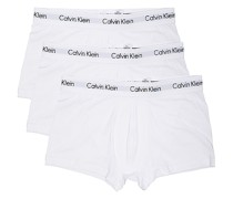 Cotton Stretch 3 Pack Low Rise Boxershorts