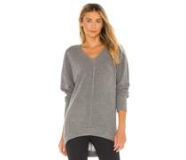 Cozy Heathered Knit Sweatshirt