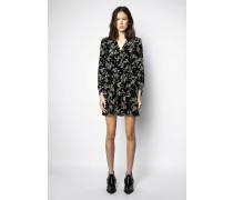 Kleid Reveal Velvet Blossom