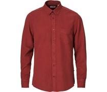 Manza Tencel/Leinenhemd Red