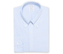 Regent Fit Non Iron Streifenhemd Light Blue