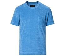 Fons Baumwoll Blend Terry Pocket Tshirt Rivieras