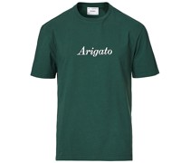Script Logo Tshirt Green