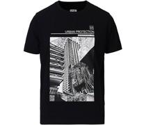 Urban Protection Logo Tshirt Black