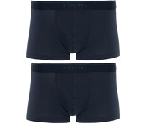 2-Pack Baumwoll Stretch Boxershort Navy