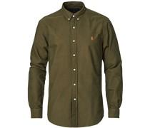Slim Fit Oxford Buttondownhemd Defender Green