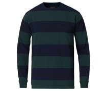 Pocket Gym Sweatshirt Navy/Green