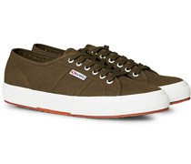 Canvas Sneaker Military Brown