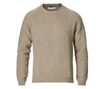 Brushed Woll/Kaschmirsweater Beige