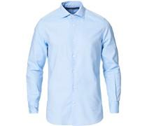 Slim Fit Oxfordhemd Light Blue
