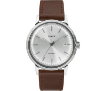 Marlin Automatic 40mm Silver Dial