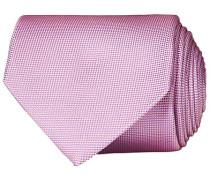 Silk Basket Weave Krawatte Pink