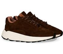 Vinci Suede Running Sneaker Snuff