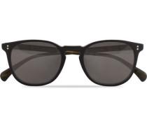 Finley ESQ Sonnenbrille Matte Black/Moss Tortoise