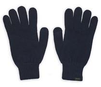 Cashmere Handschuh Dark Blue