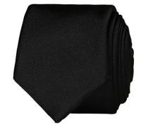 Silk 6 cm Krawatte Black