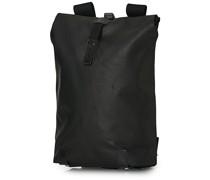 Pickwick Baumwoll Canvas 12L Rucksack Total Black