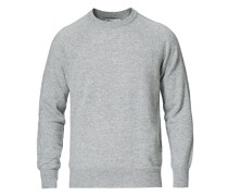 Seamless Cashmere Roundneck Light Grey Melange