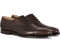 Hallam Oxford Dark Brown Calf