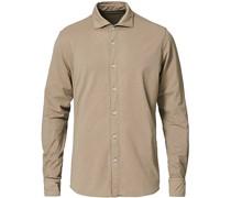Baumwoll Stretch Jerseyhemd