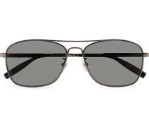 MB0026S Meisterstück Sonnenbrille Ruthenium/Grey