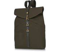 M/S Rucksack Army/Dark Brown