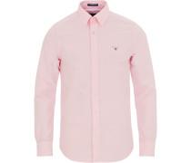 Slim Fit Oxfordhemd Light Pink
