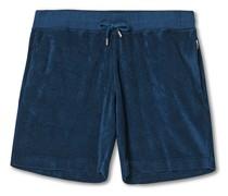 Afador Garment Dye Tuching Shorts Navy