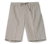 Adrian Snap Drawstring Shorts Camel Check