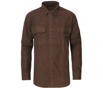 Field Flanellhemd Brown