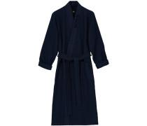 Waffle Kimono Dark Blue