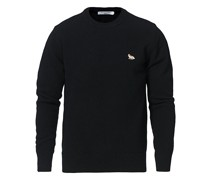 Baby Fox LambsWoll Pullover Black