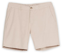Chinohose Shorts Oyster
