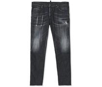 Skater Jeans Washed Black