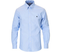 Regent Fit Non Iron Buttondownhemd Light Blue