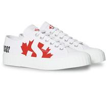 X Superga Canvas Sneaker White