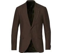 Jamonte Leinen Anzug Blazer Dark Chocolate