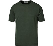 Belden Woll/Baumwoll Tshirt Mottled Moss