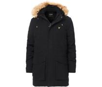 Winter Weight Micro Fleece Parka Jet Black