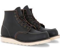 Moc Toe Stiefel Black Prairie Leder