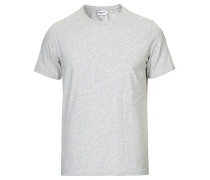 Soft Lycra Tshirt Light Grey Melange